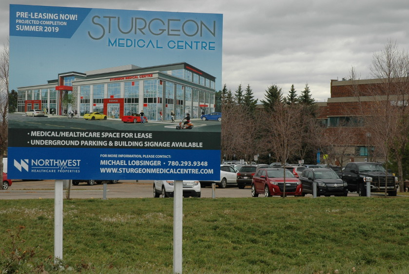 Sturgeon Medical Centre Coming Soon